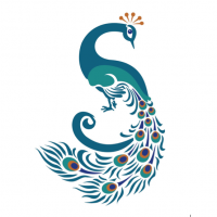 Struthers Library Theatre Peacock Logo.png
